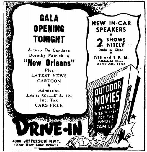 May 5th, 1948 grand opening ad