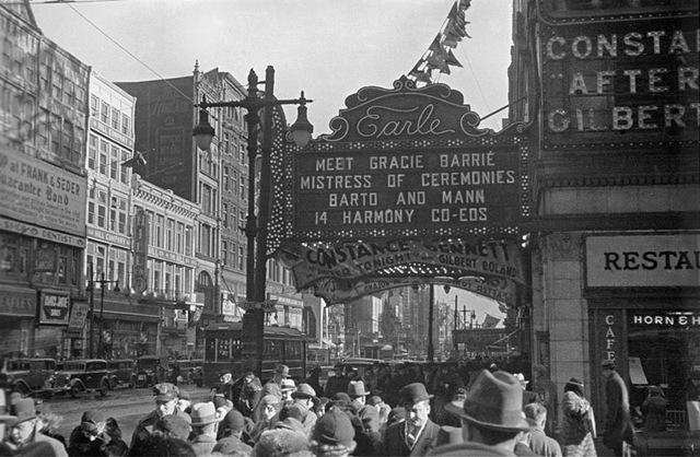 Earle Theatre, Philadelphia, PA – 1933