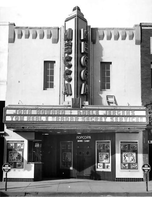 Mecca Theater  700 block of S. Main Street, Stillwater, OK..1950.