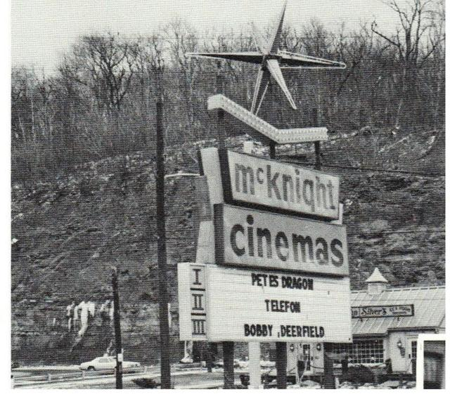 McKnight Cinemas, Pittsburgh, 1977