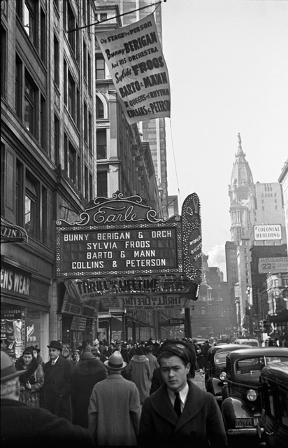 Earle Theater, Philadelphia, PA -- 1937