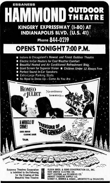 Hammond Twin Outdoor Theatre