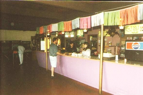 Snack bar in 1995