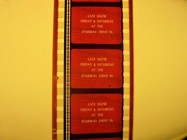 35mm Movie Film Short