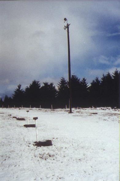 Field light pole