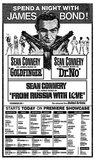 JAMES BOND TRIPLE FEATURE 1972