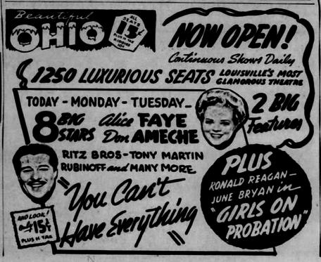 Ohio opening advertisement