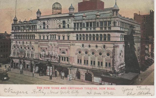 New York Theatre & Criterian Theatre
