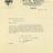 Letter sent with interior photo, 1928. Garrick Theatre