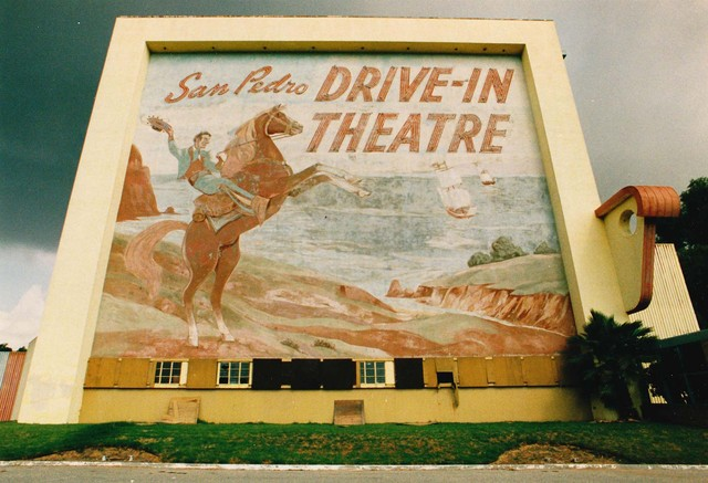 San Pedro Drive In, Courtesy of San Pedro Bay Historical Society