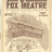 Fox Theatre Program