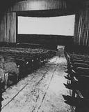 Garfield Theater screen circa 1998