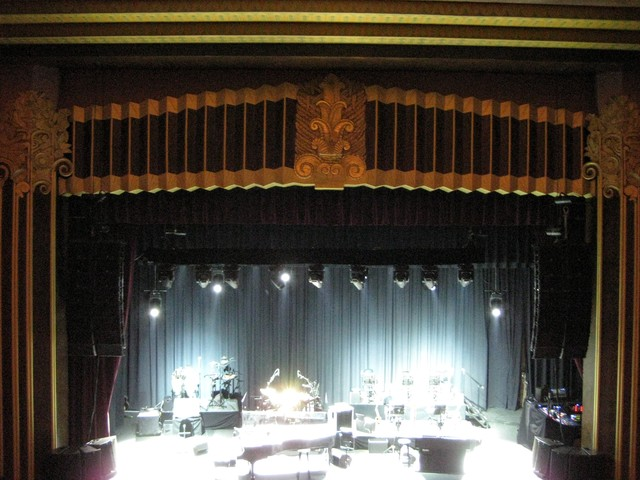 Stiefel Theatre Stage