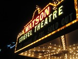 "[""Stiefel Theatre Marquee at Night""]"