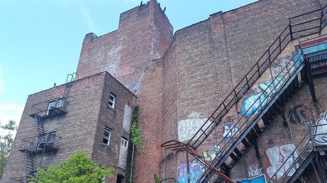 Prospect Theater South Side Dressing Room Tower