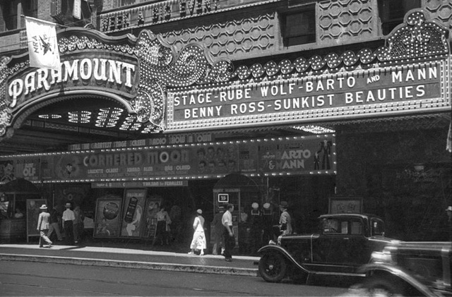 Paramount Theatre, Los Angeles, CA –- 1933