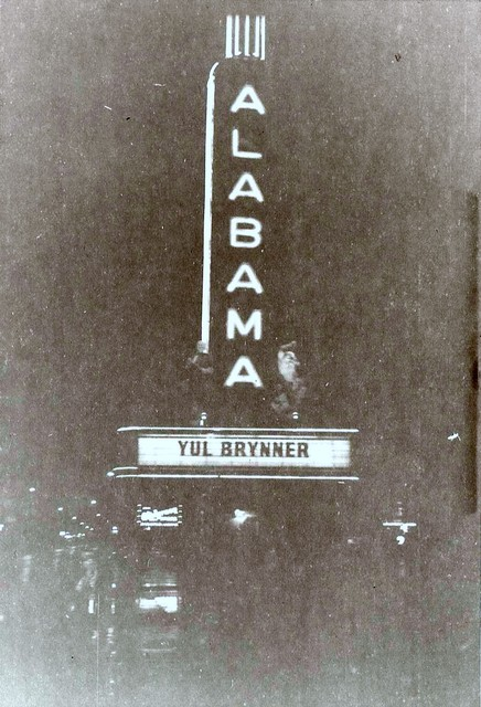 Yul Brynner at The Alabama