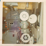 Projection Booth Latham Drive-in 1970