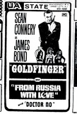 JAMES BOND TRIPLE FEATURE