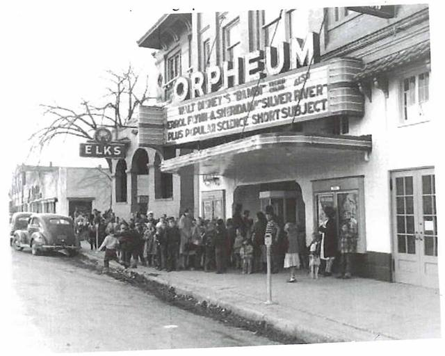 Bambi Opening (1942) Orpheum Theatre, Sheridan, WY