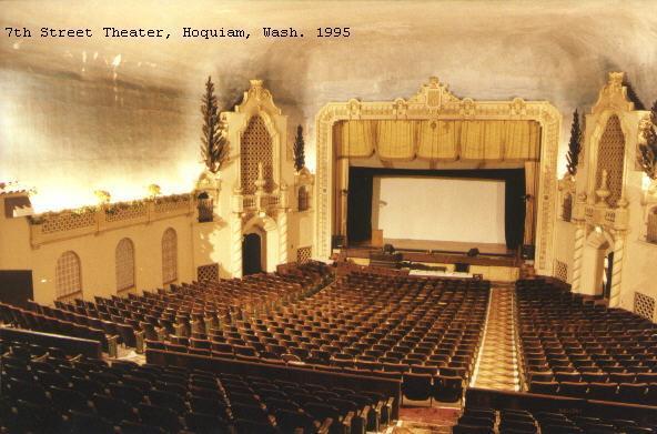 Auditorium interior looking towards the stage