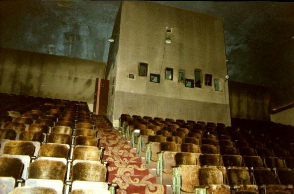 Rear of auditorium