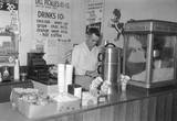 Concession Stand at the Charlotte Harbor Drive in Theatre in 1960.