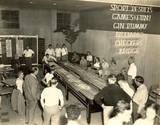 Game room at the Carefree Theatre, year unknown.