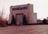 Highland Drive-In (Front) (1983)