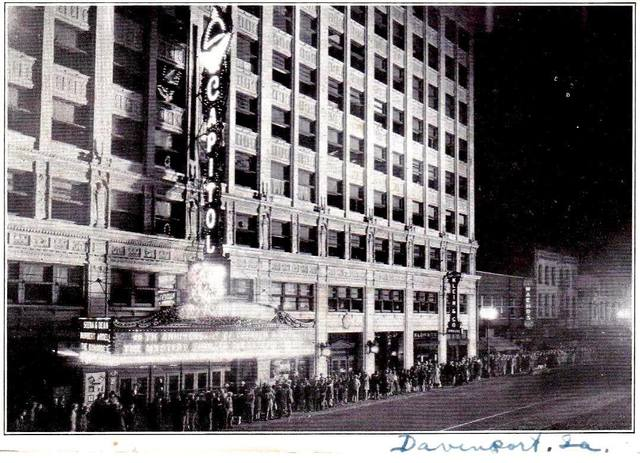 15th Anniversary December 1935 photo courtesy of the Retro Quad Cities Facebook page.
