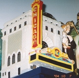 Model of Chicago Theater