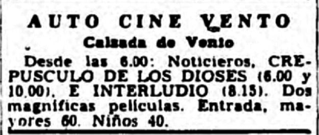Auto-Cine Vento