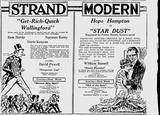 Strand & Modern, 1921.