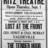 Opening Night Ad Ritz Theatre, Carteret NJ