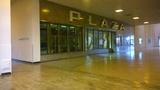 Plaza entrance