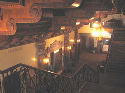 Visalia Fox lobby