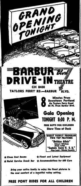 Barbur Boulevard Drive-In