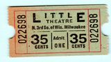 LITTLE (Garden) Theatre; Milwaukee, Wisconsin.