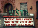 Vista Theatre exterior
