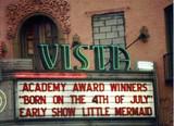 Vista Theatre exterior