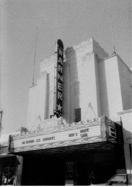 Warner Grand Theatre exterior