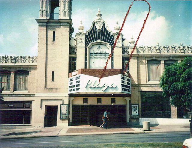 Plaza Theatre exterior