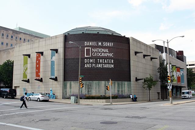 Daniel M. Soref National Geographic Dome Theater & Planetarium, Milwaukee, WI