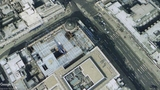 Plaza Reconstruction - Google Earth Satellite View - Image Dated 2003.