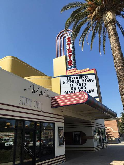 Street view of new marquee