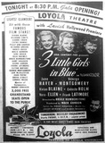 OCTOBER 3, 1946 OPENING AD