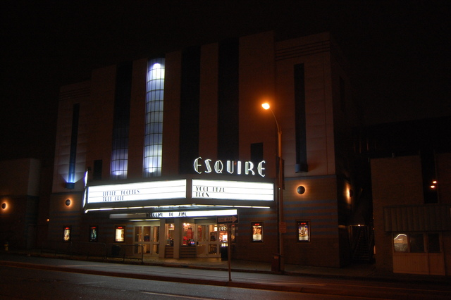 Esquire at night 1
