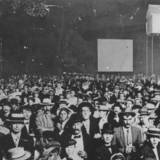 Theater crowd circa 1910