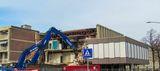 The demolition of the Eurocinema