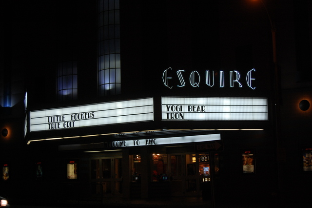 Esquire at night 2